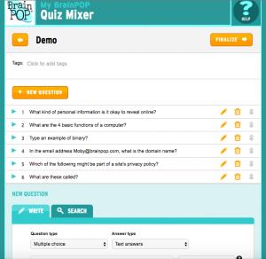 Quiz Mixer