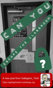 Can You 'Escape the Classroom'?